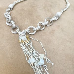 Jewelry - White Seed Bead Necklace